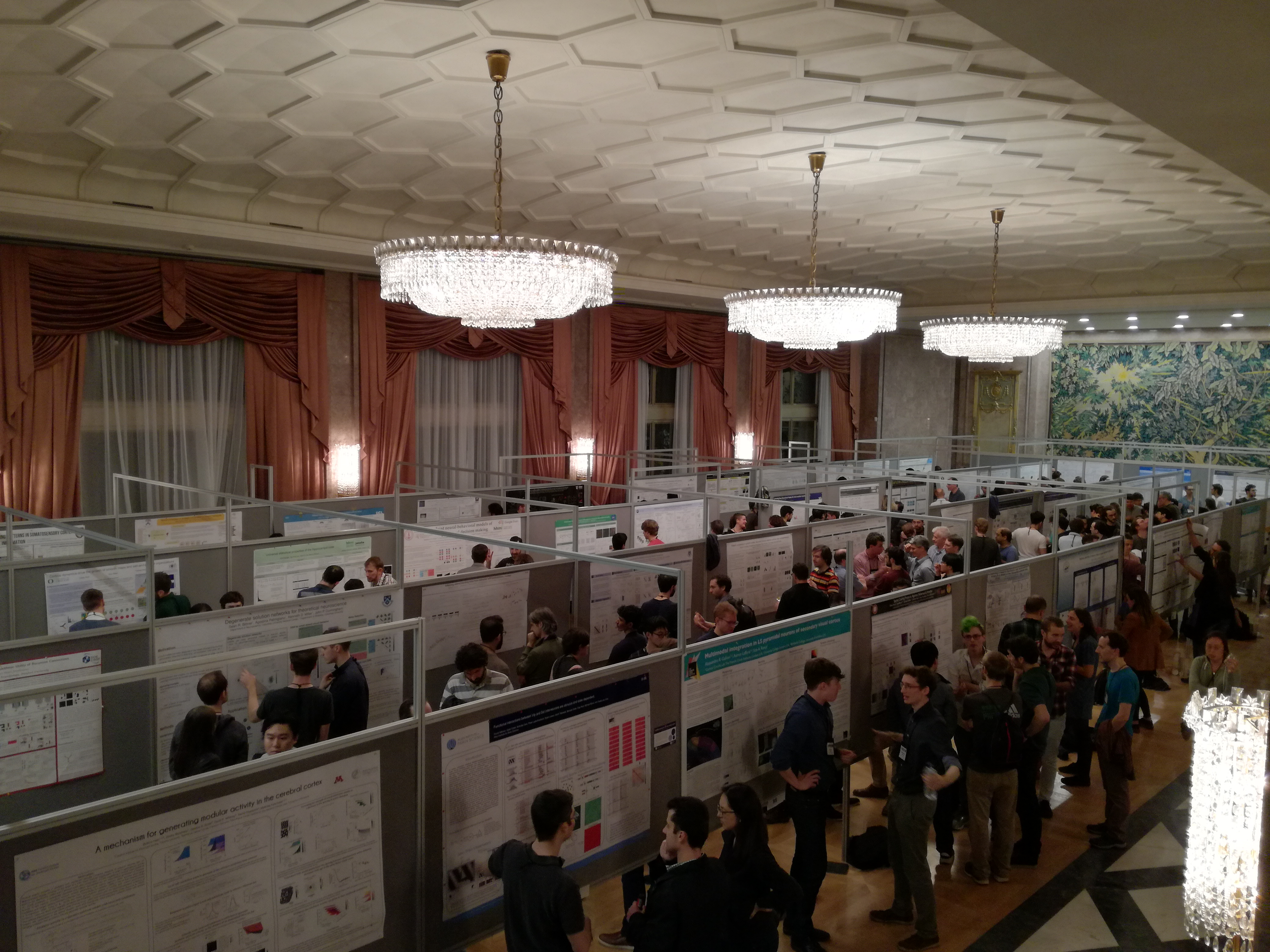 Postersession at the meeting